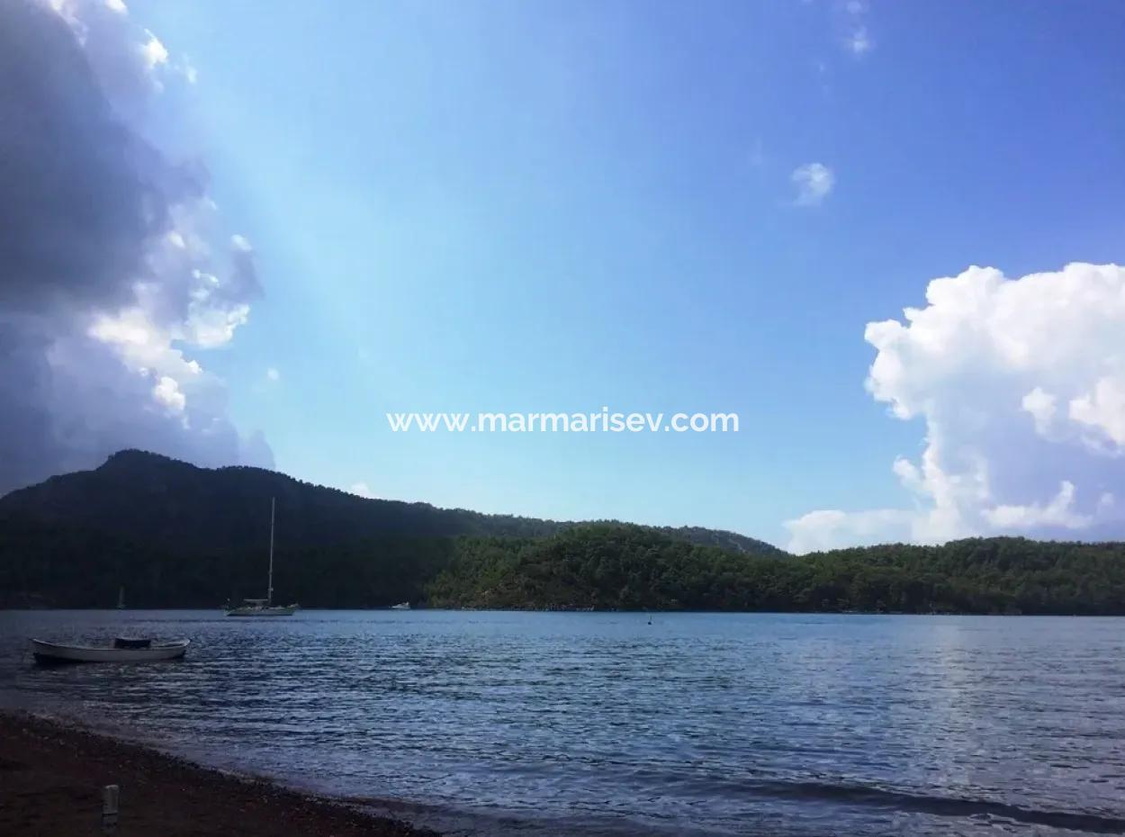 Marmaris Orhaniye Mahallesinde  Denize 100 Metre Mesafede 581 M2 Satılık Arsa